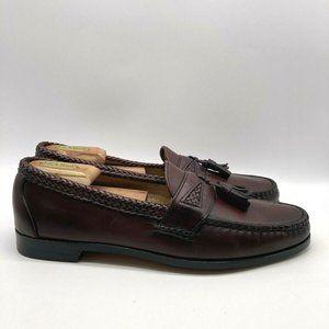Allen Edmonds Maxfield Mens Weave Loafers 12AA